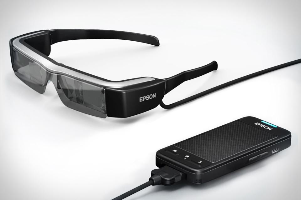 Epson okosszemüveg