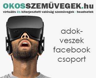 Eladó virtuális és kiterjesztett valóság szemüvegek