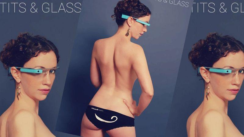 Google Glass pornó app